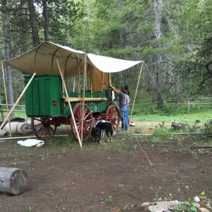 Our 1880's Original Chuck Wagon